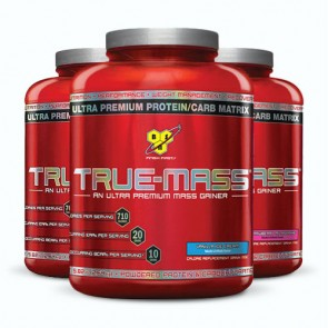 BSN TRUE-MASS | Bulu Box - sample superior vitamins and supplements