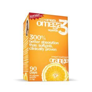 Coromega Omega-3 Squeeze Packets | Bulu Box - sample superior vitamins and supplements