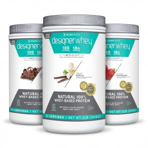 Designer Whey - Flavors | Bulu Box - sample superior vitamins and supplements