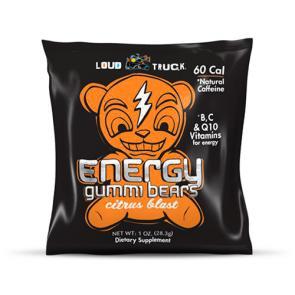 Loud Truck Energy Gummi Bears Citrus | Bulu Box - sample superior vitamins and supplements