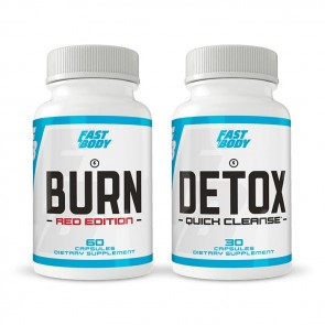 Fast Body Bundle: Burn & Detox | Bulu Box Sample Superior Vitamins and Supplements