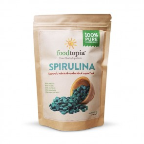 Foodtopia Spirulina | Bulu Box - sample superior vitamins and supplements
