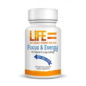 Life Equals Focus + Energy 60 | Bulu Box - sample superior vitamins and supplements