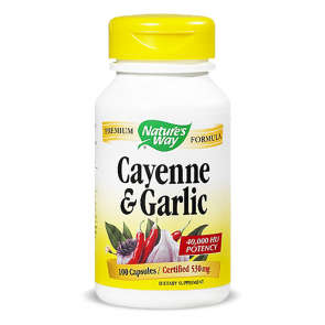 Nature's Way Cayenne & Garlic | Bulu Box - Sample Superior Vitamins and Supplements