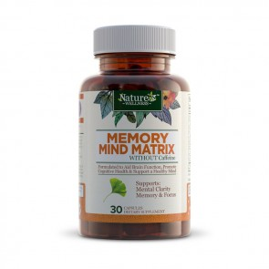Nature's Wellness Memory Mind Matrix | Bulu Box sample superior vitamins and supplements