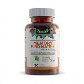 Nature's Wellness Memory Mind Matrix | Bulu Box sample superior vitamins and supplements