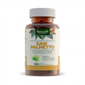 Nature's Wellness Saw Palmetto | Bulu Box sample superior vitamins supplements healthy snacks