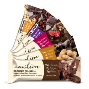 NuGo Nutrition Slim Protein Bar    Bulu Box - sample superior vitamins and supplements