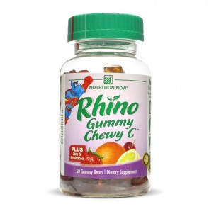 Nutrition Now Rhino Gummy Chewy C | Bulu Box - sample superior vitamins and supplements