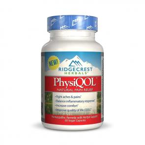 RidgeCrest PhysiQOL Natural Pain Relief   Bulu Box - sample superior vitamins and supplements