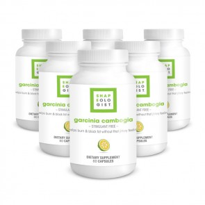 Shapeologist Garcinia Cambogia - 6 Month Supply | Bulu Box - Sample Superior Vitamins and Supplements