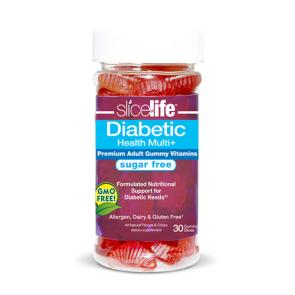 Slice of Life Diabetic Health Multi + | Bulu Box - sample superior vitamins and supplements