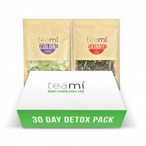 Teami Detox 30 Days Pack | Bulu Box - sample superior vitamins and supplements