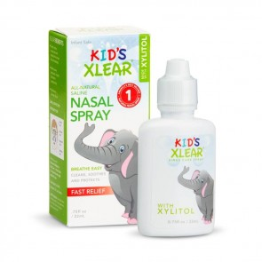Kid's Xlear Sinus Care Nasal Spray - .75 fl oz | Bulu Box - Sample Superior Vitamins and Supplements